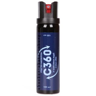 Гелевый газовый баллончик «С 360» 100 мл.